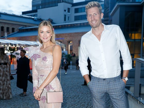 "Maximilian Arland und Duett-Partnerin Linda Hesse (""Ein Tag ohne dich"")"
