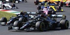Hamilton feiert im Chaos-Rennen den 90. Karriere-Sieg