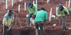 Maskenverweigerer müssenin Indonesien Gräber schaufeln