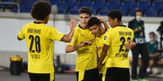 5:0! Dortmund im Pokal souverän, Bielefeld & HSV patzen