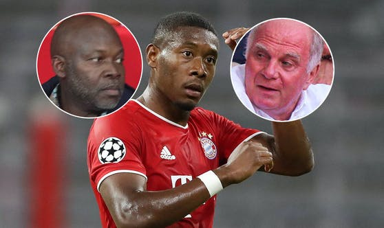 George Alaba, David Alaba, Uli Hoeneß