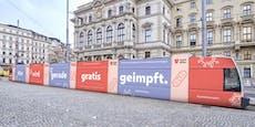 Erster Halt am Karlsplatz: Impf-Bim ist in Betrieb