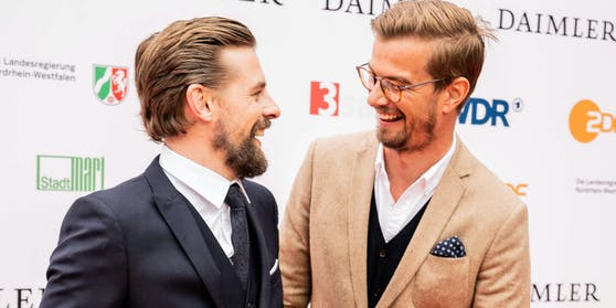 """Klaas Heufer-Umlauf und Joko Winterscheidt führten jahrelang durch das Erfolgsformat """"Circus Halligalli""""."""