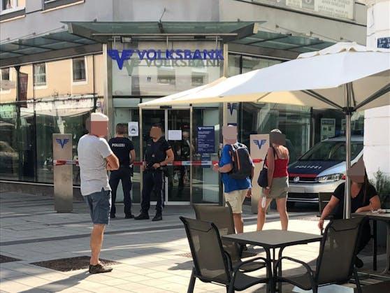 Banküberfall in Wr. Neustadt