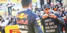 Anti-Rassismus-Shirt bringt Lewis Hamilton Probleme
