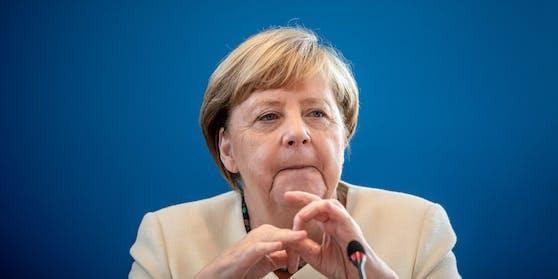 Angela Merkel bei der CDU-Präsidiumssitzung