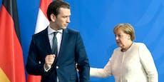"""Kurz gegen Merkel: """"Werden deutschem Weg nicht folgen"""""""