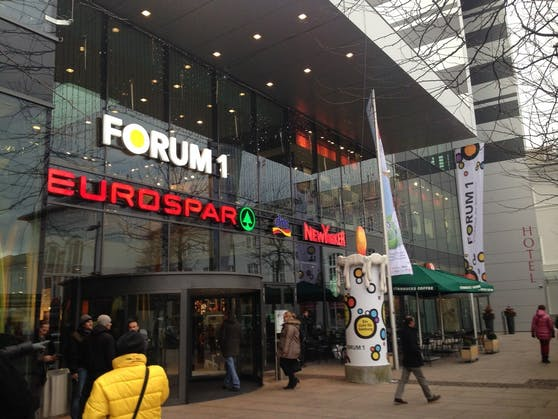 Eurospar im Forum 1 am Salzburger Hauptbahnhof