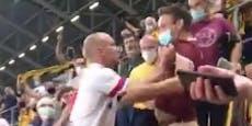 HSV-Star erklärt seine Attacke gegen Fan auf Tribüne