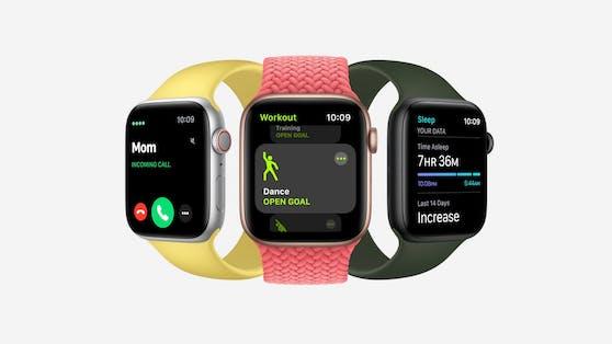 So sieht die Apple Watch Series 6 aus.