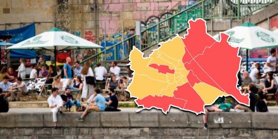 Diese Bezirke sind Wiens Corona-Hotspots (15. September 2020)