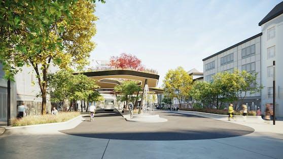 Der Kaiser-Josef-Platz in Wels wird im Jahr 2021 neu gestaltet.