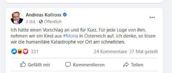 Das Posting von Kollross