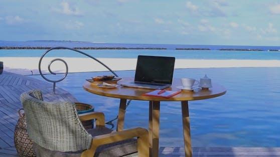 Leider hat das Büro mit Blick auf den Ozean seinen Preis.