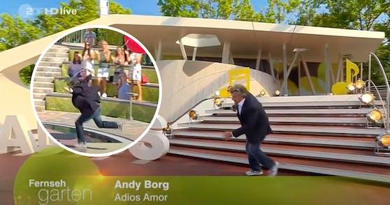 Andy Borg stolperte durch die Show.