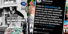 """""""Geldgeschenke für Ausländer"""" – Harte Kritik an FPÖ"""