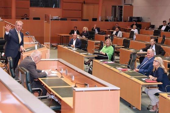 Die Enquete im Landtag
