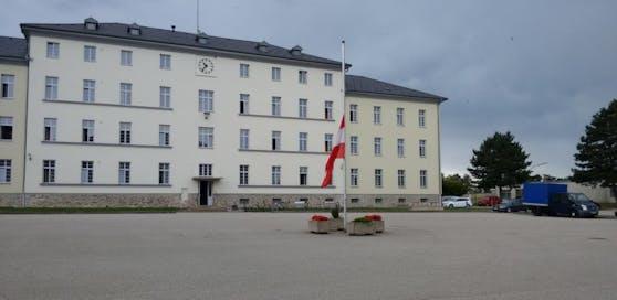Die Radetzky-Kaserne in Horn.