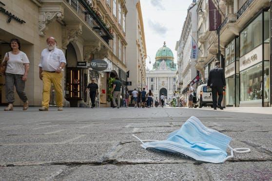 Tourismus in Wien während Corona. Symbolbild