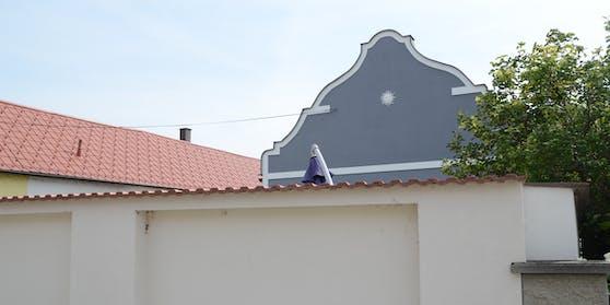 Besagtes Haus in Deutsch Jahrndorf