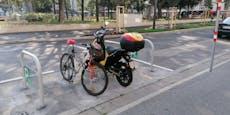 Vizebürgermeisterin fand keinen Parkplatz für ihr Rad