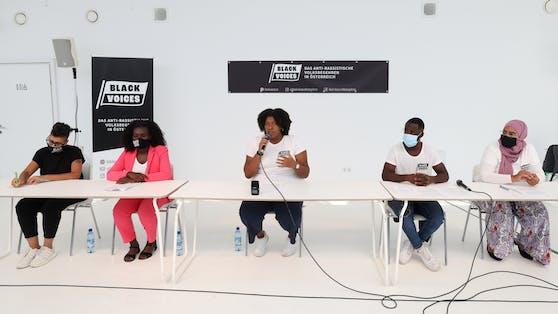 Pressekonferenz zum Start des #BlackVoicesVolksbegehrens