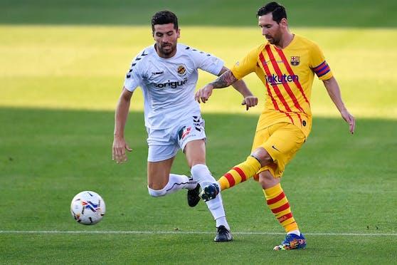 Lionel Messi ist zurück beim FC Barcelona.