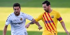 """""""Ars******!"""" Messi beleidigte Gegenspieler im Test"""