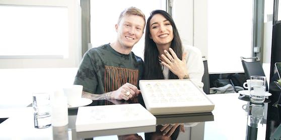 Hannah und Scott geben sich am Donnerstag das Ja-Wort.