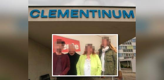 Die 4 Angeklagten des Pflegeheimes