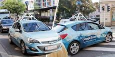 Google-Auto für Aufnahmen in Linz gesichtet