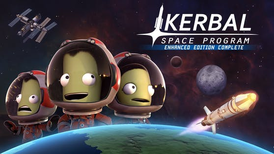 """Die """"Kerbal Space Program: Enhanced Edition Complete"""" ist jetzt für Konsolen erhältlich."""