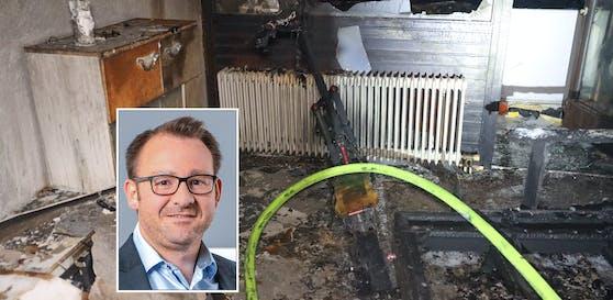 """Nach dem explodierten Scooter in Wels sprach """"Heute"""" mit einem Experten der OÖ Brandverhütungsstelle."""