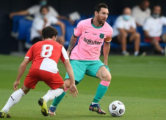 Lionel Messi schnürt gegen Girona den Doppelpack.