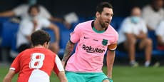 Messi trifft wieder! Doppelpack nach dem Wechsel-Krach