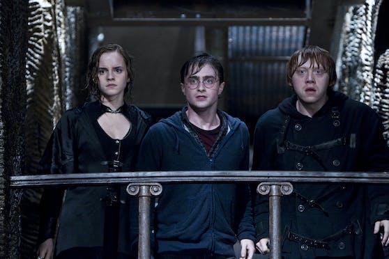 Daniel Radcliffe, Emma Watson und Rupert Grint schalteten sich ein.