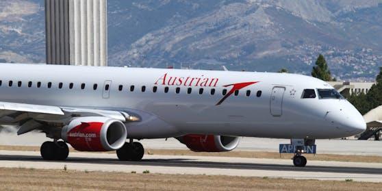 Austrian Airlines startet mit verpflichtenden Covid-19-Tests.