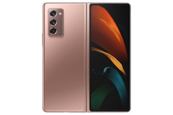 Das Smartphone gibt es in Schwarz oder Bronze.