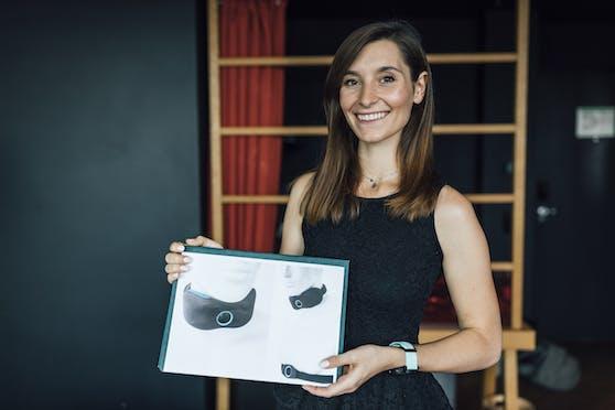 Carmen Maier, Studentin des Joanneums Graz, gewinnt den nationalen James Dyson Award 2020.