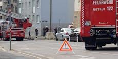 Bauarbeiter fiel in Wien von Gerüst - leicht verletzt