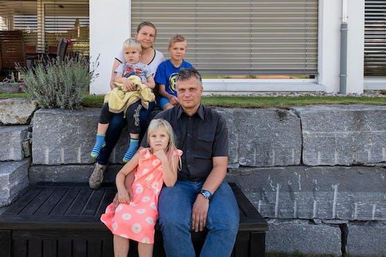 Der älteste Sohn Leon starb mit acht Jahren: Die Familie Pasanen ist mittlerweile aus Flaach weggezogen.