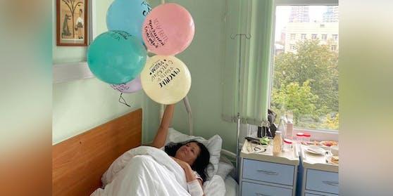 Anna Netrebko muss ihren Geburtstag im Spital feiern