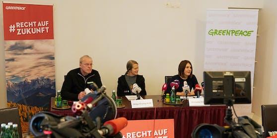 Pressekonferenz der Sammelklage
