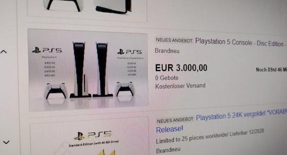 Die PlayStation 5 ist heiß begehrt.