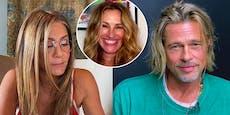 """Aniston und Pitt bringen """"Pretty Woman"""" zum Weinen"""