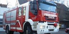 Altstoffsammelzentrum in Kindberg steht in Flammen