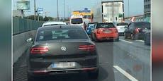 Lkw-Crash sorgt für Riesen-Stau auf Wiener Tangente