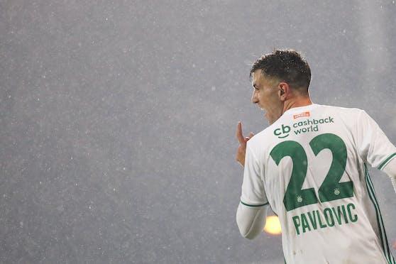 Andrija Pavlovic verlässt Rapid.