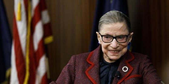 """""""Unsere Nation hat eine Juristin von historischer Statur verloren"""": Ruth Bader Ginsburg ist tot."""