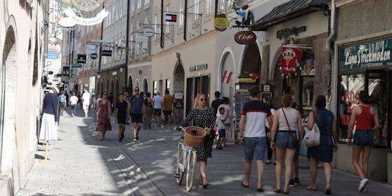 Die positiv getestete Person besuchte mehrere Restaurants und Bars in Salzburg.